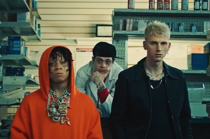 Machine Gun Kelly Premieres New Music Video For Candy Featuring