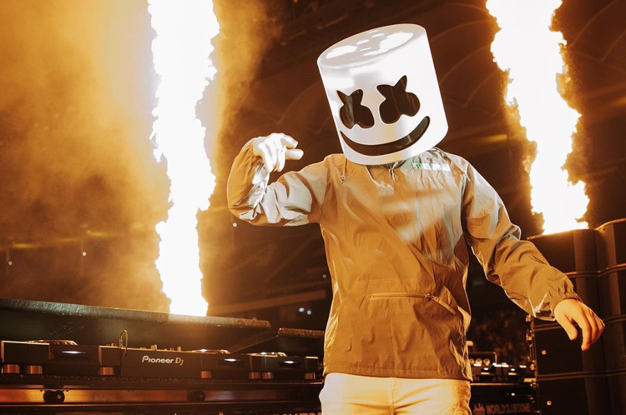 """Marshmello x Flux Pavilion Release New Song """"Room To Fall"""